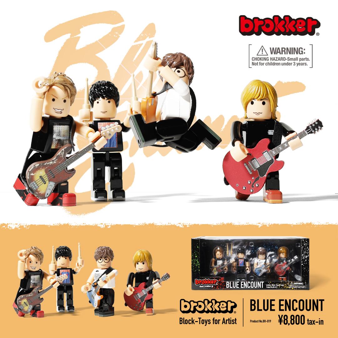 brokker × BLUE ENCOUNT OFFICIAL GOODS