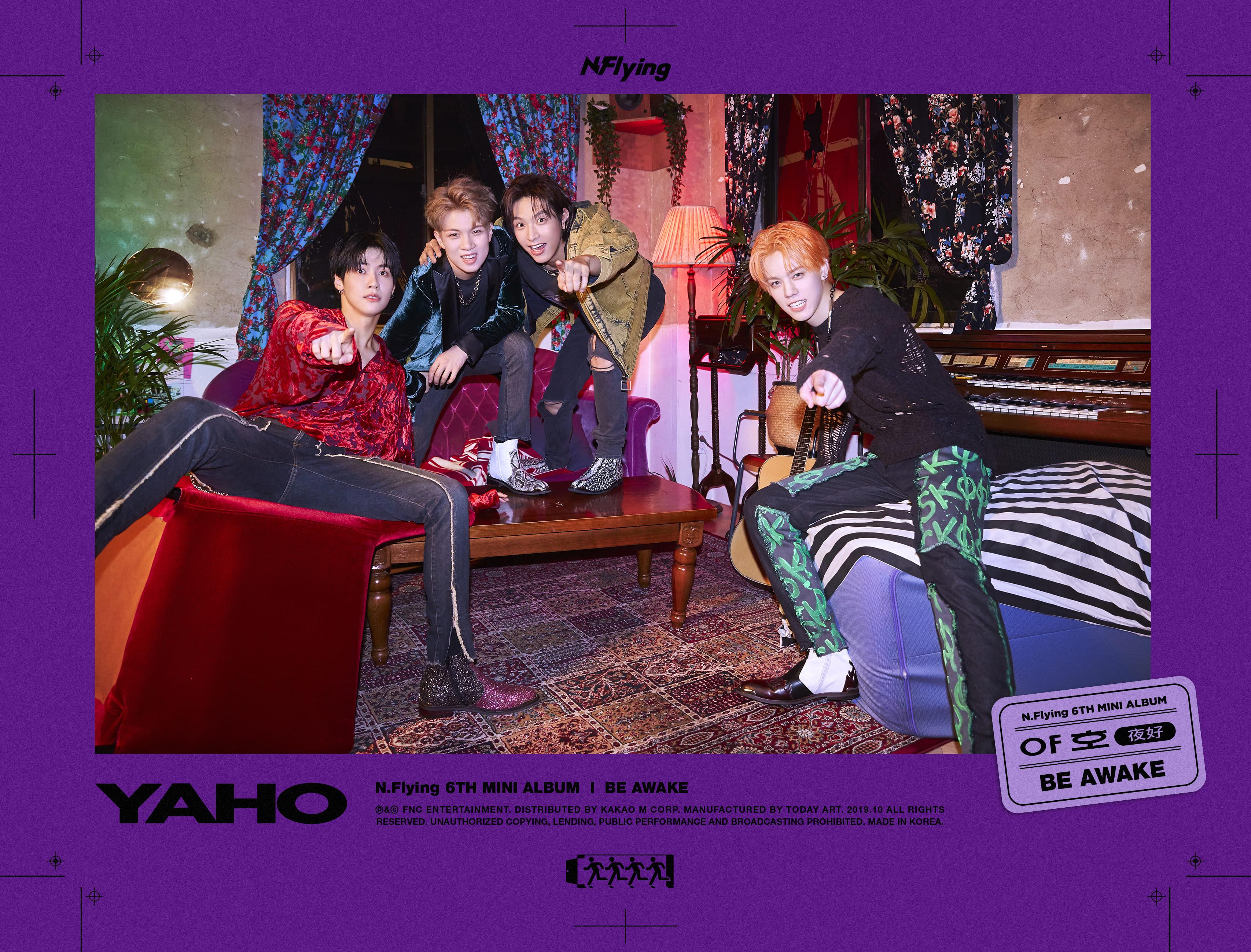 6th Mini Album「야호(夜好)」